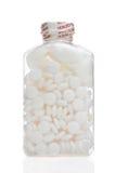 Flasche des Aspirins Stockfotografie
