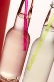 Flasche des Cocktails Lizenzfreie Stockbilder