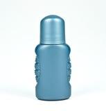 Flasche des Rollerdesodorierenden mittels lokalisiert Stockfotografie