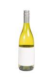 Flasche des weißen Weins Stockbild
