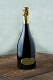 Flasche feiner italienischer spumante Wein Lizenzfreies Stockbild
