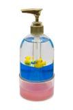 Flasche flüssige Seife Stockfotografie