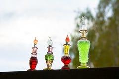Flasche Gift, giftige Kapsel, Halloween Lizenzfreies Stockfoto