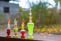 Flasche Gift, giftige Kapsel, Halloween Stockbild