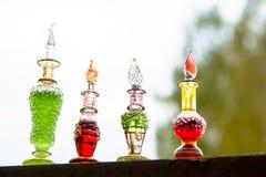 Flasche Gift, giftige Kapsel, Halloween Lizenzfreie Stockfotografie