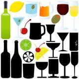 Flasche, Glas, Behälter, Cocktail Stockbild