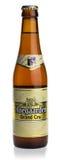Flasche großartiges Cru Bier Hoegaarden Stockfotografie