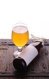 Flasche Handwerksbier Stockbild