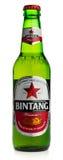 Flasche Indonesier-Bintang-Lager-Bier Stockfoto