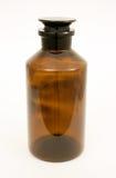 Flasche mit einem festen Stopper Stockfoto