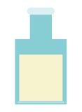 Flasche mit Flüssigkeit Stockfotografie