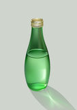 Flasche mit Wasser Stockfotos