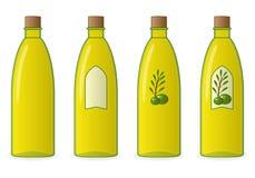 Flasche Olivenöl Lizenzfreie Stockbilder