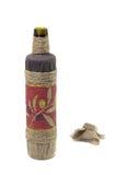 Flasche Olivenöl Lizenzfreies Stockbild