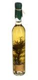 Flasche Olivenöl Lizenzfreie Stockfotos