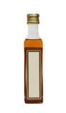 Flasche Pflanzenöl. Stockfotografie