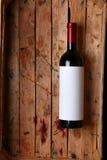 Flasche Rotwein Lizenzfreie Stockfotografie