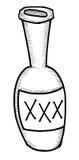 Flasche Schnäpse Lizenzfreie Stockbilder