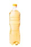 Flasche Sonnenblumenöl Stockbild