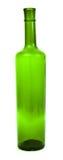 Flasche vom grünen Glas Lizenzfreies Stockfoto