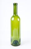 Flasche vom grünen Glas Lizenzfreies Stockbild