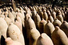 Flasche von Pisco, Peru Lizenzfreies Stockbild