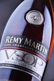 Flasche von Remy Martin-Kognak Stockbild