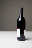 Flasche Wein Stockfotografie