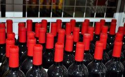 Flasche Wein lizenzfreie stockfotos