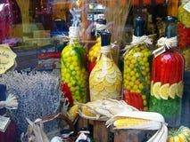 Flaschen in Österreich Stockfotos