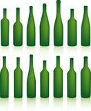 Flaschen stock abbildung