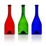 Flaschen. stockbilder