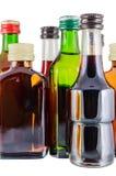 Flaschen Alkohol Lizenzfreie Stockbilder