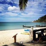 Flaschen-Bucht, Koh Phangan stockbild