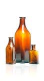 Flaschen der alten Art Stockbilder