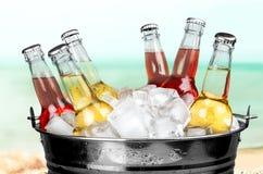 Flaschen-Getränke stockfotografie