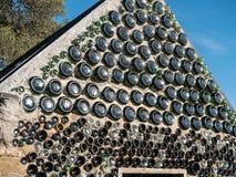 Flaschen-Haus lizenzfreie stockbilder