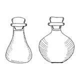 Flaschen, Krüge 1 stock abbildung