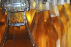 Flaschen Olivenöl Stockfotografie