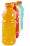 Flaschen Saft lizenzfreie stockfotografie