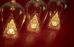 Flaschen und Lichter lizenzfreie stockfotografie