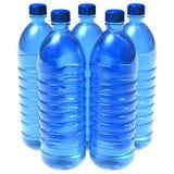 Flaschen Wasser lizenzfreie abbildung