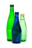 Flaschen Wasser getrennt Stockfoto