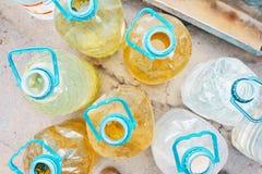 Flaschen Wasser stockfoto