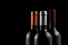 Flaschen Wein lizenzfreie stockfotos