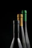 Flaschen Wein lizenzfreies stockbild