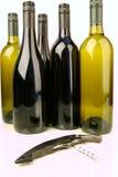 Flaschen Wein Stockfoto