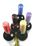 Flaschen Wein Lizenzfreies Stockfoto