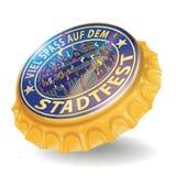 Flaschenkapsel-Stadtfestival Lizenzfreies Stockfoto
