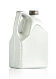 Flaschenplastikgallone 6 Liter Stockfotos